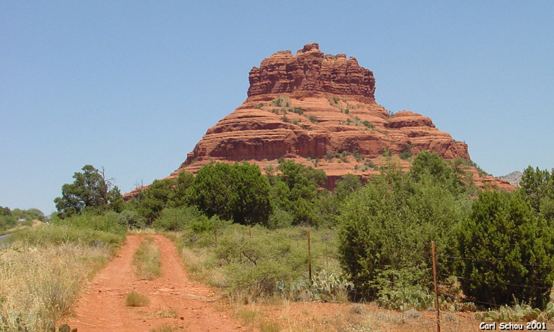 Bell Rock, 800 by 480 pixels